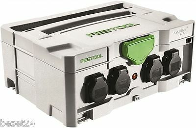 FESTOOL 200231 SYS PH Power Hub 10m Kabeltrommel im Systainer IP44 koppelbar