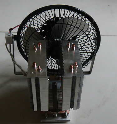 stove fan cooling down by heat pipe cooler for CPU, D.I.Y. kits