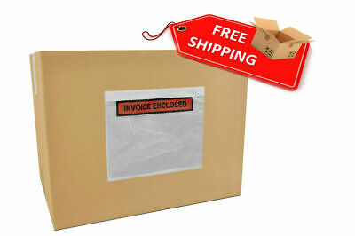 Invoiced Enclosed Packing List Envelope, Receipt Slips, Clear Poly Pouches