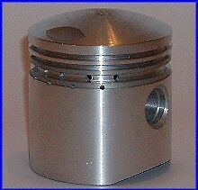 KIT SET PISTONE PISTON PISTONS KOLBEN CON FASCE NSU 175 4T FOX 1950's