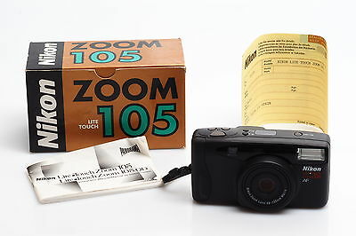Nikon Zoom 105 35mm Compact Camera NEW OLD STOCK