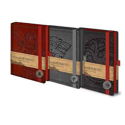 Cahier A5 Premium Game of Thrones Licence officielle