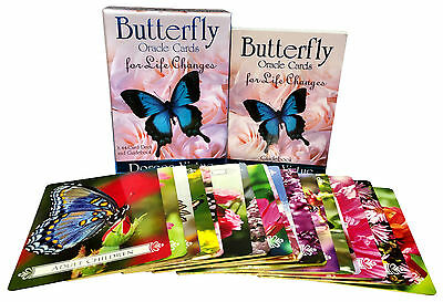 Butterfly Oracle Cards for Life Changes Cards Deck Doreen Virtue Psychic Reading