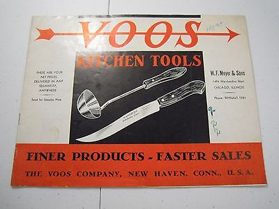 VOOS Kitchen Tools Catalog 1940s or 50s?