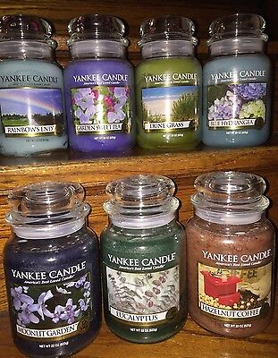 Yankee Candle large (22oz) jar candle ~ you pick the scent ~ Free U.S. shipping