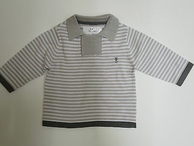 Boys Jumper knitwear ex store brand Okaidi baby 3 6 months  NEW! RRP £13