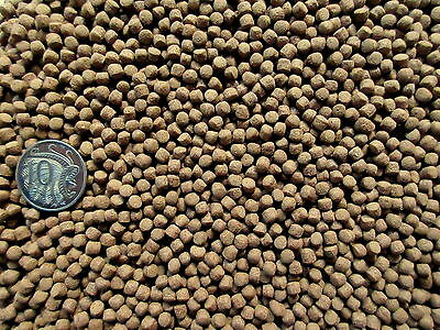 SUPREME FLOATING GOLDFISH  KOI FISH FOOD PELLETS 4mm - Natural (500g-20kg)