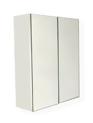 NEW PENCIL EDGE SHAVING MEDICINE BATHROOM WALL HUNG CABINET 600 X 720 X 150mm