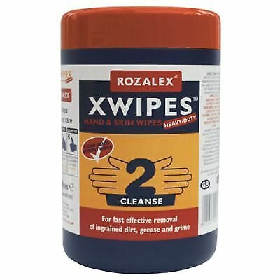 Rozalex Scented Xwipes Heavy Duty Mechanic/Work/Cleaning Hand Wipes Pack Of 50