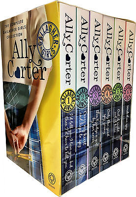 Ally Carter Gallagher Girls Series Collection 6 Books Box Set Pack United We Spy