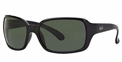 NEW Genuine RAY-BAN HIGHSTREET Black Green G-15 Designer Sunglasses RB 4068 601