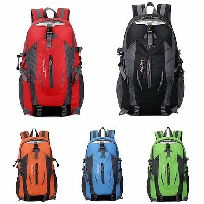 Outdoor camping  waterproof riding hiking travel rucksack camping bag backpack