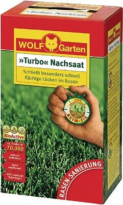 Turbo Nachsaat LR10, by Wolf Garten, Lawn seed for 10 m²