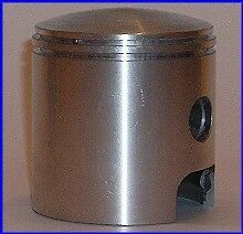 KIT SET PISTONE PISTON KOLBEN FASCE PUCH 175 MC Cross USA 1970-'74 Cil.Ghisa/Cr.