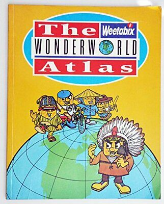 The Weetabix Wonderworld Atlas by Anon Hardback Book The Cheap Fast Free Post