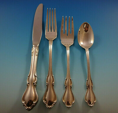 Hampton Court by Reed & Barton Sterling Silver Flatware Set 6 Service 28 Pieces