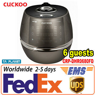 [6 Cups] New CUCKOO CRP-DHR0680FD IH Pressure Rice Cooker Voice Guidance