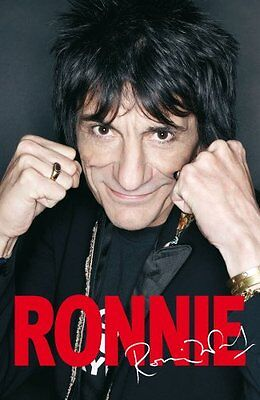 Ronnie: The Autobiography, Wood, Ronnie Hardback Book The Cheap Fast Free Post