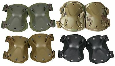 Viper Tactical Military Hard Shell Knee Pads Protectors Airsoft Safety Padding