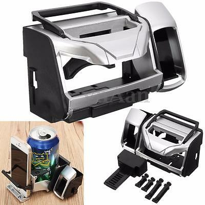 Car Van Clip on Air Vent Drinking Water Bottle Can Cup Phone Mount Holder Stand