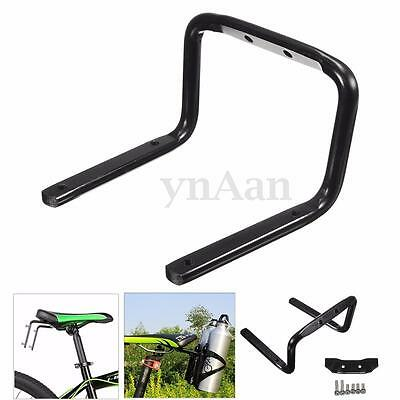 Cycling MTB Road Bike Bicycle Double 2 Water Bottle Cage Tire Seat Back Holder
