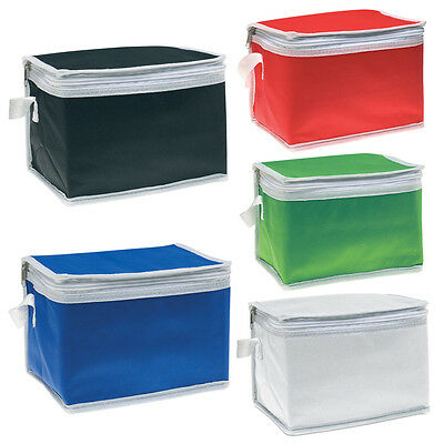 Small Insulated Cool Cooler Lunch Bag - Thermal Portable Lunch Carry Storage