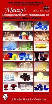 Mauzy's Comprehensive Handbook Of Depression Glass Prices - New Paperback Book