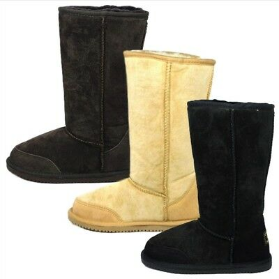Originals Ugg Australia Long Sheepskin Boots Ladies Mens 6 7 8 9 10 11 12 13 14