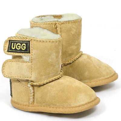 Originals Ugg Australia Sheepskin Booties Baby Toddler Pre New Walker Boy Girl
