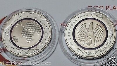 5 euro 2016 Germania Pianeta Terra Planet Earth Erde Allemagne Alemania Germany