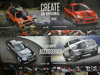 Poster-Chrysler Jeep Dodge Ram Authentic Accessories