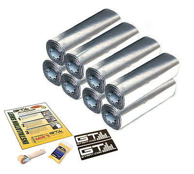 Limited Discount Item! FOUR DOOR KIT 24sqft GTMat Pro 50mil Car Sound Deadener