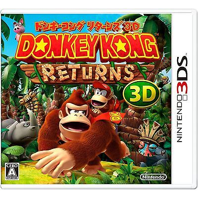 Donkey Kong Country Returns 3D Download Card for Nintendo 3DS  US Version