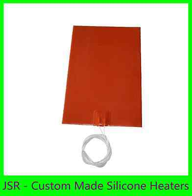 150mm X400mm,230V, 40 Degree C built-in thermostat No 3M 1PC  silicone heater
