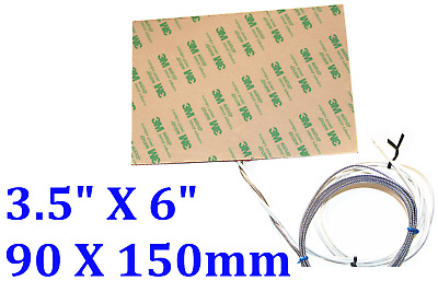 150 mm X90 mm 115V 150W Both side 3M adhesive TWO PCs  Heater Pad