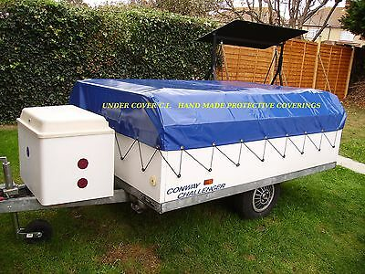 CONWAY CHALLENGER TRAILER TENT/ FOLDING CAMPER COVER. 1980-LATE 90's  HAND MADE