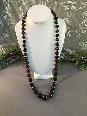 Lovely Vintage To Now Artisan Beaded Necklace-- Estate Jewelry Lot