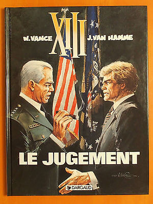 XIII. Tome 12. Le jugement. William Vance & Jean Van Hamme. Dargaud EO