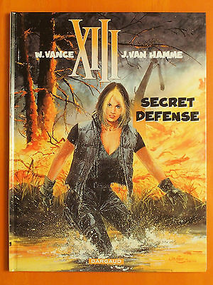 XIII. Tome 14. Secret Défense. William Vance & Jean Van Hamme. Dargaud EO