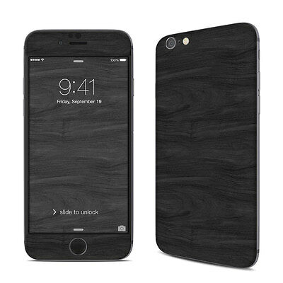 NEW Woodgrain Printed Design Vinyl Decal Skin Sticker Cover For iPhone Models