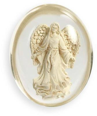 BLESSING Angel Pocket Stone Token By Angel Star Worry Stone Protection Gift Bag