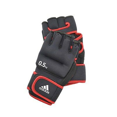 Adidas Weighted Gloves 0.5kg Hand Weights Shadow Boxing