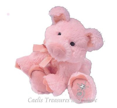 Russ Berrie Shining Stars Plush PINK PIG  Soft Piglet! NEW Piggy with all tags