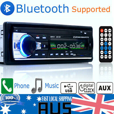 AU Car Bluetooth In-dash Radio Stereo Head Unit Player MP3/USB/SD/AUX-IN/FM NEW