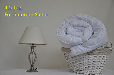 Summer Sleep Duvet/quilt 4.5 Tog Slight Seconds ( Brand New ) Light Weight