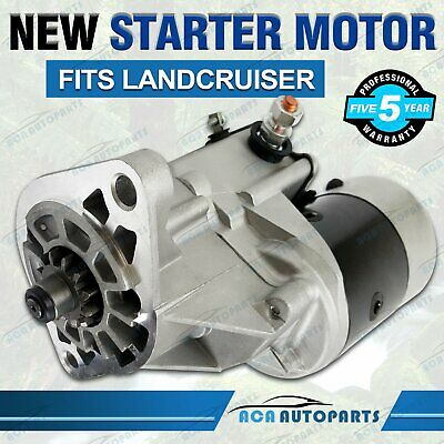 Starter Motor for Toyota Landcruiser 4.2L Diesel 1HZ 1HD-FT 1HD-FE 1HDT HZJ70 79