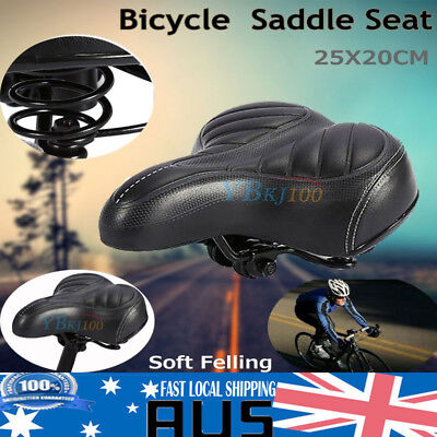Outdoor Big Bum Sprung Unisex Bike Cycling Bicycle Cushion Comfort Saddle Seat