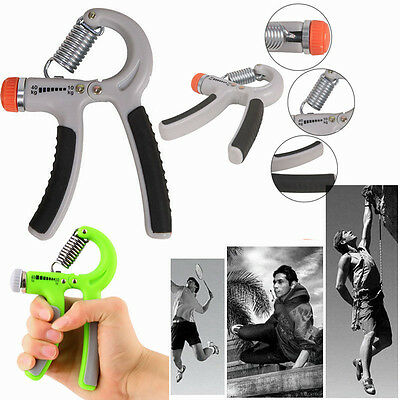 Adjustable Fitness Hand Power Grip 10 - 40 kg Grip Strengthener Exerciser AU CE