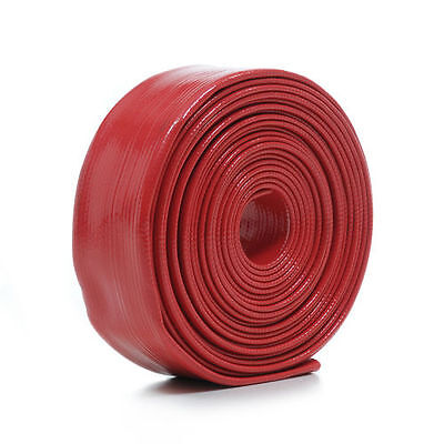 Swimming Pool Heavy Duty Red Backwash Hose 7.5m