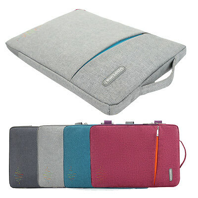 Laptop Sleeve Case Cover Notebook Carry Bag for MacBook Air Pro 11'' 13'' 15''